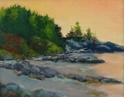 """Tides Out"" (8 x 10 Oil)Sold"