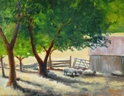 """In the Shade"" (12 x 16 Oil)"
